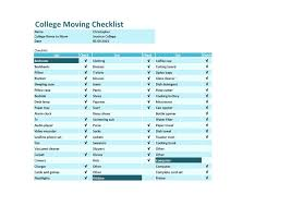 Printable Moving Checklist Packing List Template Home – Willconway.co