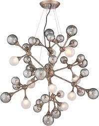 modern hanging lighting. corbett 206440 element modern vienna bronze halogen large hanging pendant lighting loading zoom s