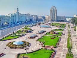 Live cam minsk, view of the independence avenue and central department store. Belarus Minsk Belarus Belarus Countries Of The World