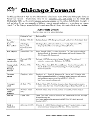 10 Chicago Bibliography Format Proposal Sample