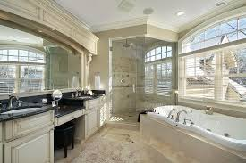 Interesting Luxury Master Bathroom Shower Amazing Design With Bath Tub And A Standing For Decorating