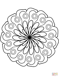 40 Kleurplaten Bloemen Mandala Amazing Coloriage