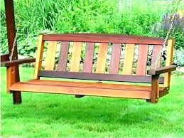 benches hammock bench swing wooden swinging benches garden furniture seat or