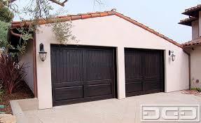 custom made wood garage doors
