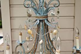 antique white chandelier shabby chic