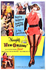 poster for naughty new orleans usa wrong side of the art naughty new orleans 1954 usa