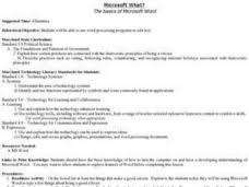 Ms Word Lesson Plans Microsoft What The Basics Of Microsoft Word Lesson Plan For 2nd