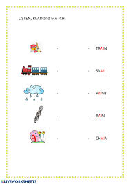 Jolly phonics worksheets for the sounds s a t i p n. Phonics Ai Worksheet