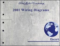 2001 ford escort & zx 2 wiring diagram manual original 2001 Ford ZX2 Coupe at Wiring Schematic For 2001 Ford Escort Zx2