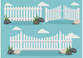white picket fence. White Picket Fence Vectors