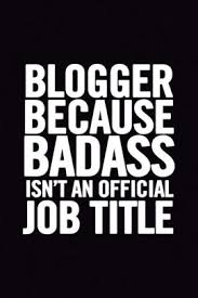 Cool Title Pages Blogger Because Badass Isnt An Official Job Title Ruled 100 Pages 6x9 Funny Notebook For Bloggers Cool Gag Gift Useful As A Planner For Blogging
