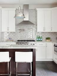 modern kitchen backsplash with white cabinets. Perfect With Stephanie Kraus Designs LLC White Cabinets Gray Backsplash Older House  Renovation Before And After On Modern Kitchen Backsplash With Cabinets