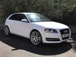 audi a3 1 6tdi 2010 3 door ibis white 32 per week finance available to