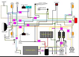 cb350 k4 color electrical diagram inside 1972 honda cb350 wiring 1972 honda cb350 wiring harness at 1972 Honda Cb350 Wiring Diagram