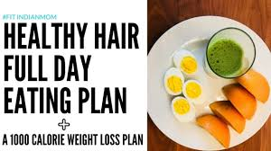 Diet Chart For Hair Regrowth Diet Plan For Hair Growth Weight Loss Meal Plan Prevent