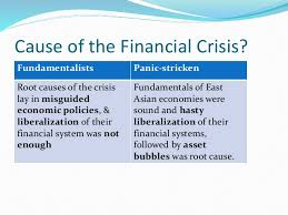 causes and consequences of the asian financial crisis foreign exchange reserves 7 cause of the financial crisis