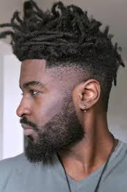 Meilleur Coiffure Afro Black Homme Coloration Cheveux