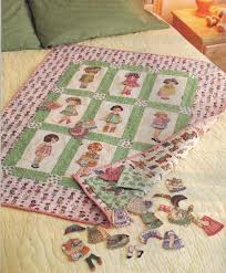 Best 25+ Doll quilt ideas on Pinterest | DIY doll quilt, Mini ... & Paper Doll Quilt--I have the doll fabric panels. Just got to find Adamdwight.com
