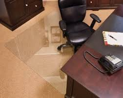 tempered glass chiar mat for executive offices