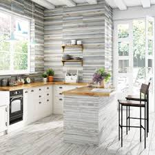white floor tiles kitchen.  Floor Kitchen Floor Tiles BoCoCa Paintwash Wood Effect Tiles With White