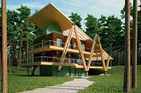 cool energy efficient gras per shaped house thumb auto modern hom with cost efficient house plans