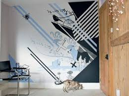 wall designs with paintwallcovering  Wallpaper Design  Part 5
