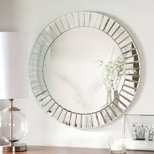 d 233 cor wonderland fortune modern frameless beveled wall mirror 27 6 diam in com