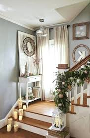 stair landing decor decorating ideas for staircase landing nice look 9 stairway wall decorating ideas how stair landing decor stair landing ideas