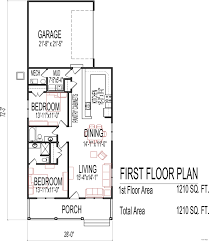 Small One Bedroom House Plans Fresh In Custom Two With Garage Cabin Kits  Camp 2 Flat Design