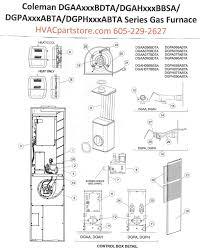 wiring schematic coleman dgaa056bdta wiring wiring diagrams cars dgaa056bdta coleman gas furnace parts hvacpartstore
