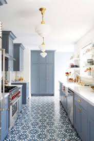 Perfect home decor ideas with colorful variation Furniture These Bold Blue Kitchens Are Insanely Gorgeous House Beautiful 15 Blue Kitchen Design Ideas Blue Kitchen Walls