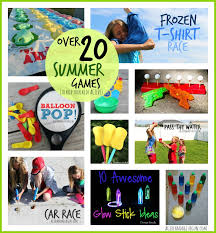 outdoor games to play in summer keep those kids active