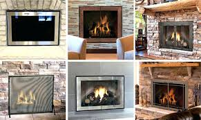 gas fireplace covers glass doors design specialties fireplace gas fireplace covers insulation