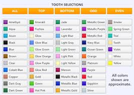 Braces Color Picker Portsmouth Dover Hampton Nh