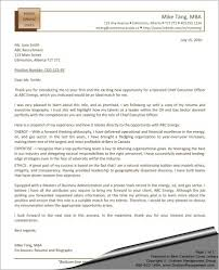 Executive Cover Letters Samples Ceo Cover Letter Chief Executive Officer Sharon Graham