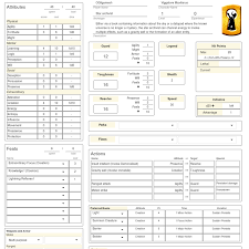 hero forge character sheet new archetypes player open legend community