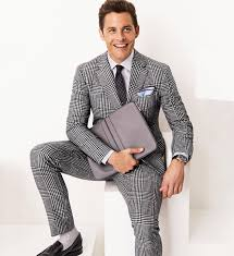 Image result for the man in the plaid suit