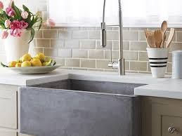 Faucetcom  KHF20033 In Stainless Steel By KrausStainless Steel Farmhouse Kitchen Sinks