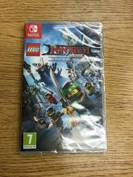 Nintendo Switch LEGO The Ninjago Movie Video Game AGES 10+ for sale online