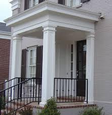permacast columns pictures square fiberglass columns commercial porch
