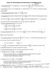What Is Convergence Bccalculus Convergence Testing