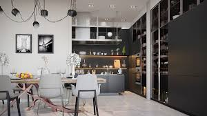 interior spot lighting. 36 Stunning Black Kitchens That Tempt You To Go Dark For Your Next Remodel Interior Spot Lighting