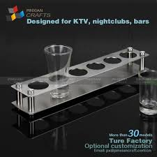 shot glass display case diy