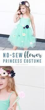diy flower princess costume no sew princess costumes for or princess camp
