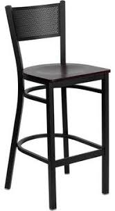 this heavy duty mercial metal bar stool is ideal for restaurants hotels bars pool halls lounges and in the home the lightweight design of the stool
