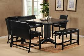 black dining room set with bench. Bunch Ideas Of Cheap Dining Room Table Sets In Nice For Black Set With Bench