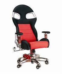 office furniture on wheels. PitStop LXE Chair - Red Office Furniture On Wheels