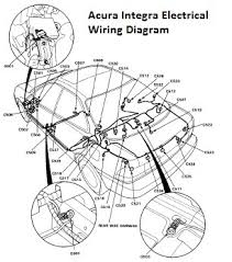 acura integra electrical wiring diagram