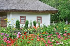 Small Picture Garden Design Garden Design with Country garden with summerhouse