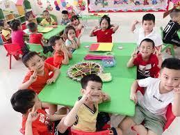 Bé vui tết trung thu - Lớp 5-6 tuổi A1